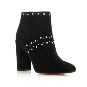 Sam Edelman Black Suede Chandler Ankle Booties